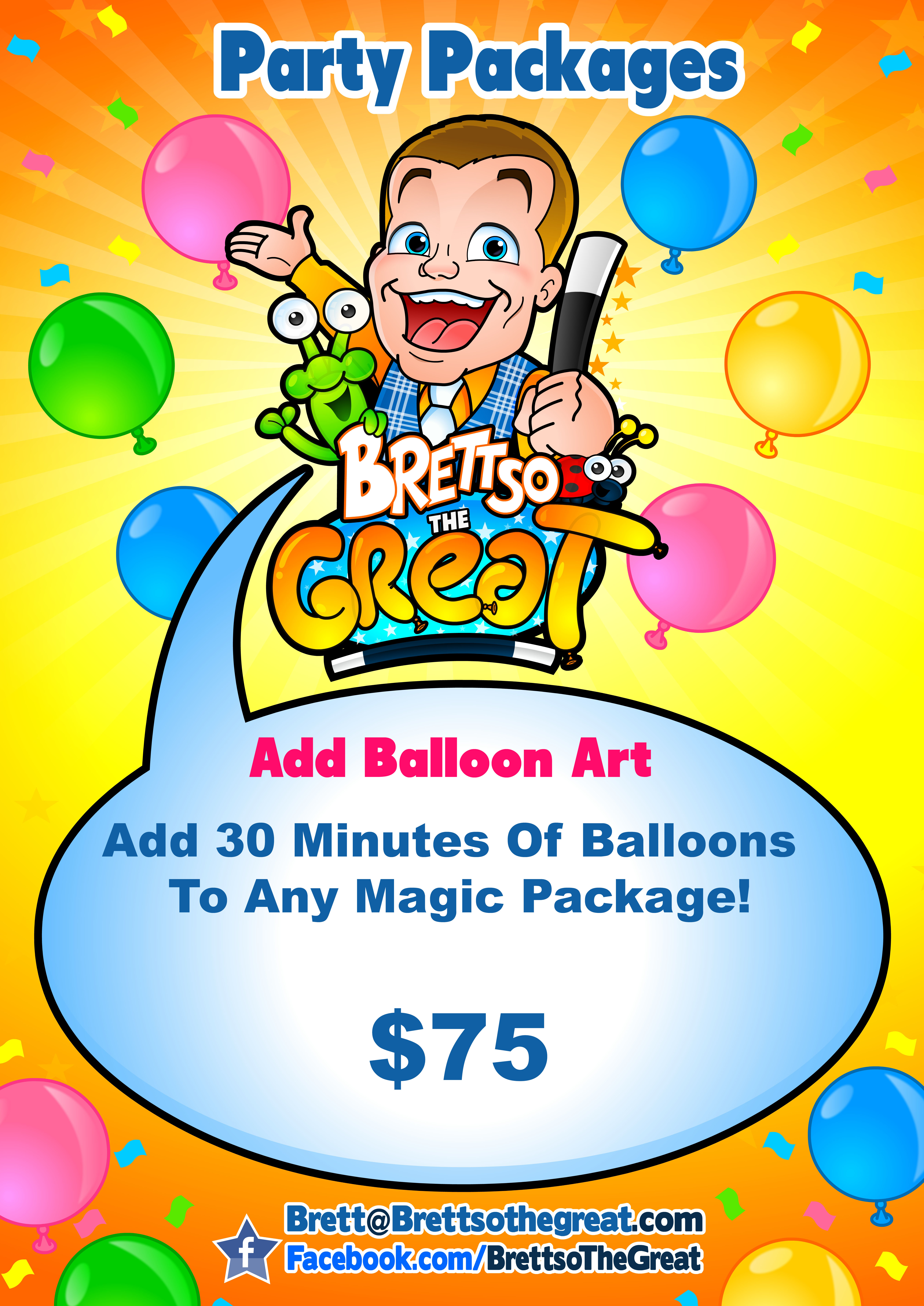 Brettso The Great Balloons
